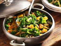 Kale with Sausage and Potato recipe