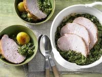Kale with Smoked Pork recipe