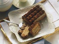 Kalte Schnauze (German No-Bake Chocolate Cookie Cake) recipe