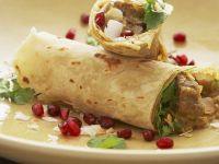 Kashmiri Lamb Flatbread Wraps recipe