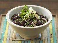 Kidney Bean and Rice Salad recipe