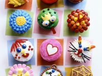 Kids Fairy Cakes with Toppings recipe