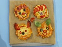 Kids Pizza Rounds recipe