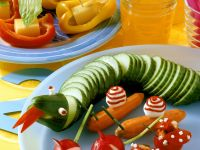 Kids Veggie Platter recipe