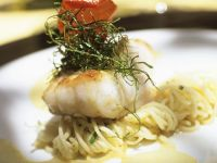 Kingklip Fillets over Linguine recipe