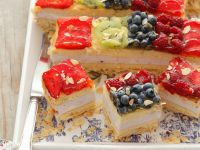 Kiwi and Berry Cake recipe