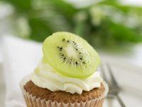 Kiwi Cream Cupcakes recipe