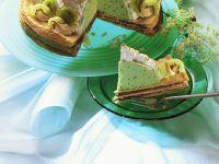 Kiwi Meringue Torte recipe