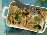 Nettle-Kohlrabi Gratin recipe