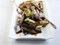 Korean-style Eggplant Saute recipe