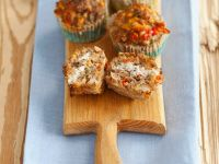 Lactose-Free Ground Meat and Corn Muffins recipe