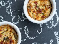 Lactose-free Zucchini Quiches recipe