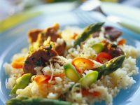 Lamb and Asparagus Risotto recipe