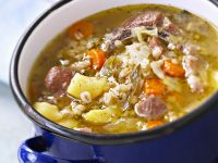 Lamb and Barley Casserole recipe
