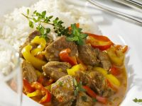 Lamb and Pepper Ragout recipe
