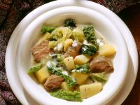 Lamb and Savoy Cabbage Stew recipe