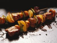 Lamb and Vegetable Skewers recipe