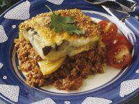 Lamb, Aubergine and Potato Bake recipe