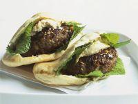 Lamb Burger Pittas recipe