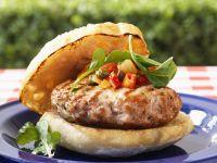 Lamb Burger with Relish recipe
