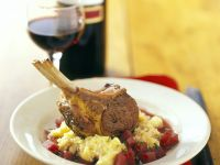 Lamb Chops with Potatoes and Parsnip Mash recipe