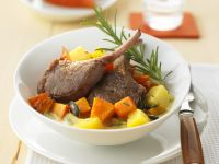 Lamb Chops with Pumpkin recipe
