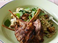 Lamb Chops with Wild Rice and Quinoa recipe
