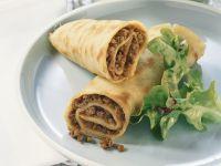 Lamb Crepe Rolls recipe
