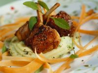 Lamb Cutlets with Mashed Potatoes recipe