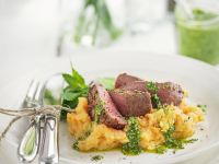 Lamb Fillet with Parsley Root Mash recipe