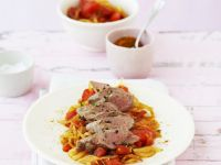 Lamb Fillet with Spicy Tomato recipe