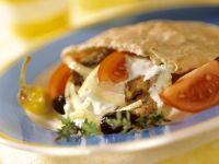 Lamb Flatbread Sandwiches recipe