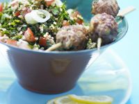 Lamb Koftas with Parsley Salad recipe