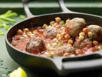 Lamb Meatball Stew recipe