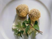 Lamb Meatballs with Sesame Seeds recipe
