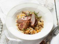 Lamb on Couscous recipe