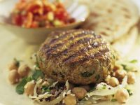 Lamb Patties with Chickpeas recipe