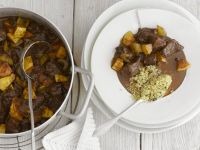 Lamb Quince Stew with Couscous recipe