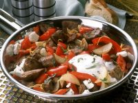 Lamb Ragout with Peppers recipe