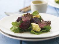 Lamb Salad with Feta and Beets recipe