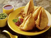 Folded Indian Pastries recipe