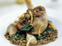 Lamb Shank and Lentil Casserole recipe