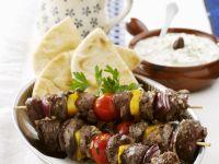 Lamb Shish Kebab with Tzatziki recipe