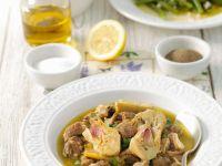 Lamb Stew with Artichokes recipe