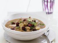 Lamb Stew with Boysenberries (Blackberries)