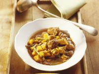 Lamb Stew with Chestnuts recipe