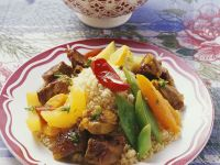 Lamb Stew with Couscous recipe