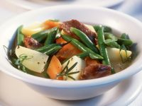 Lamb Stew with Green Beans recipe