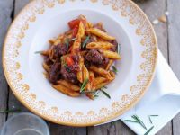 Lamb Stew with Pasta recipe