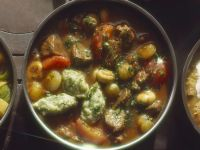 Lamb Stew with Pearl Onions and Parsley Dumplings recipe